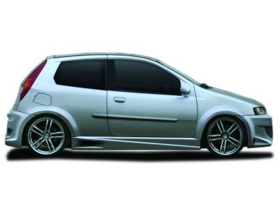 Fiat Punto MK2 PhysX Rear Wheel Arch Extensions