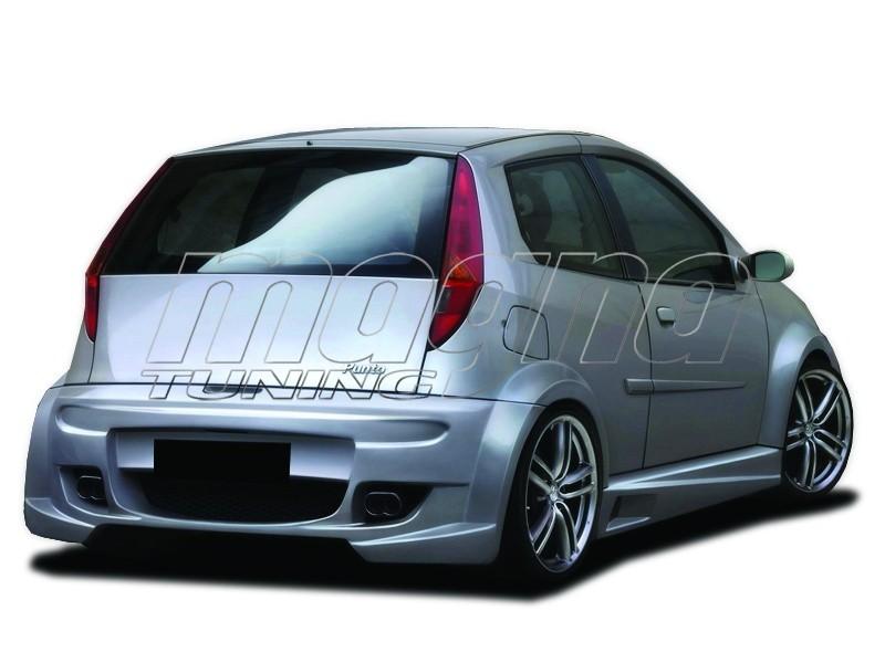 Fiat Punto MK2 PhysX Wide Heckstossstange