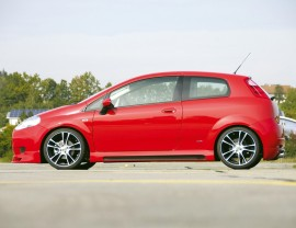 Fiat Punto MK3 Vector Side Skirts