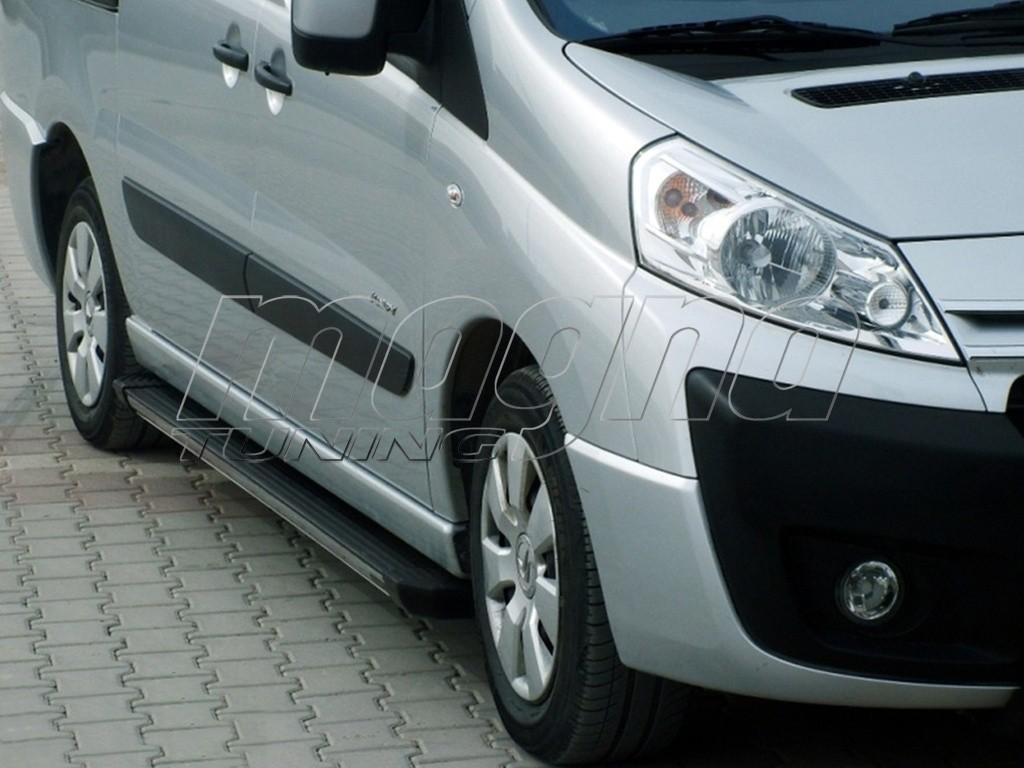 Fiat Scudo 2 Trax2 Trittbretter
