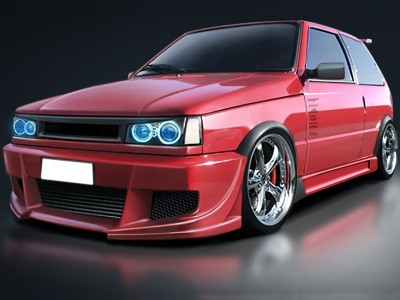 Fiat Uno MK2 Street Side Skirts