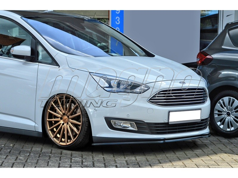 ford c max mk2 facelift intenso front bumper extension. Black Bedroom Furniture Sets. Home Design Ideas