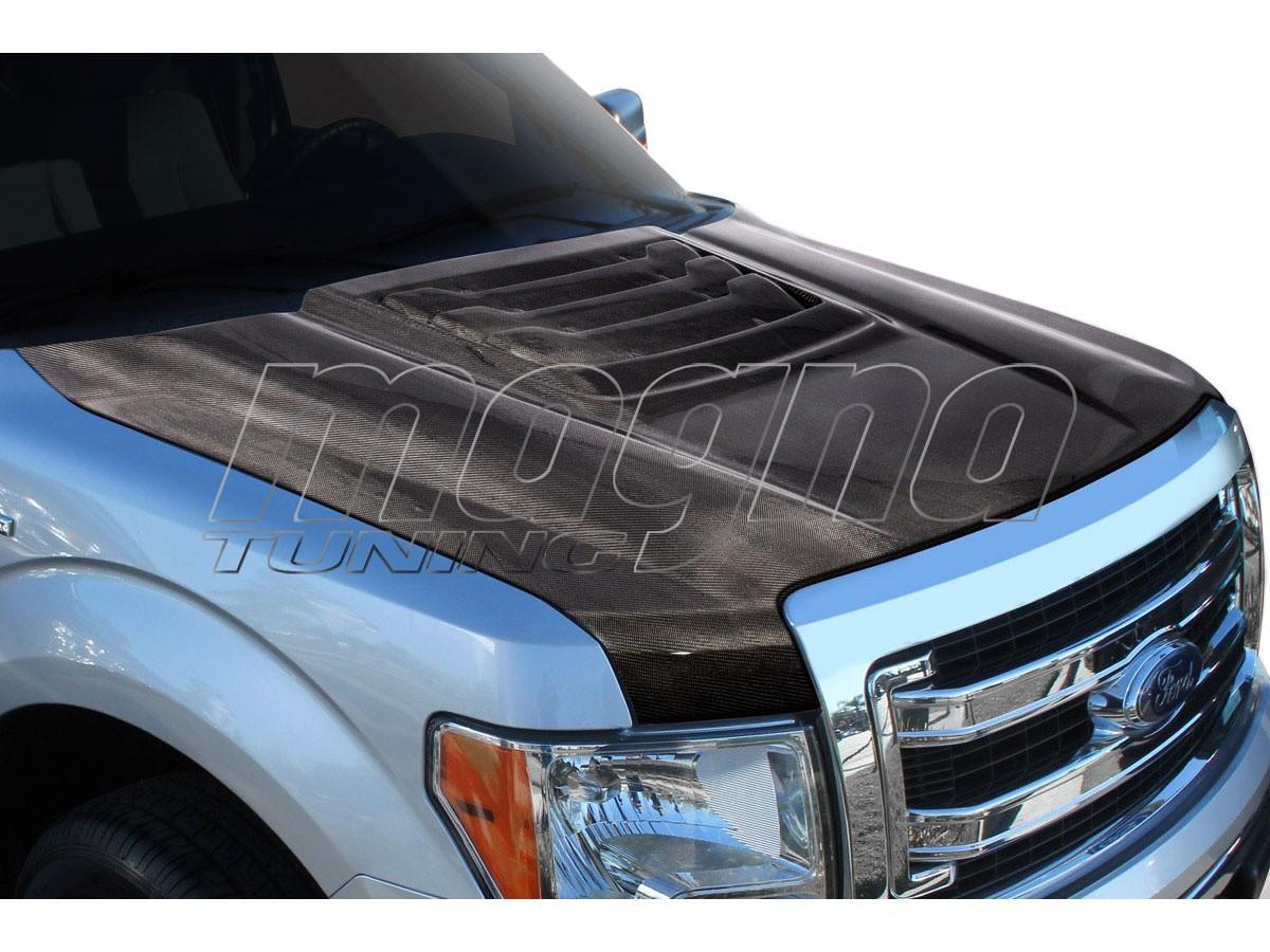 Ford F150 Raptor-Look Carbon Fiber Hood