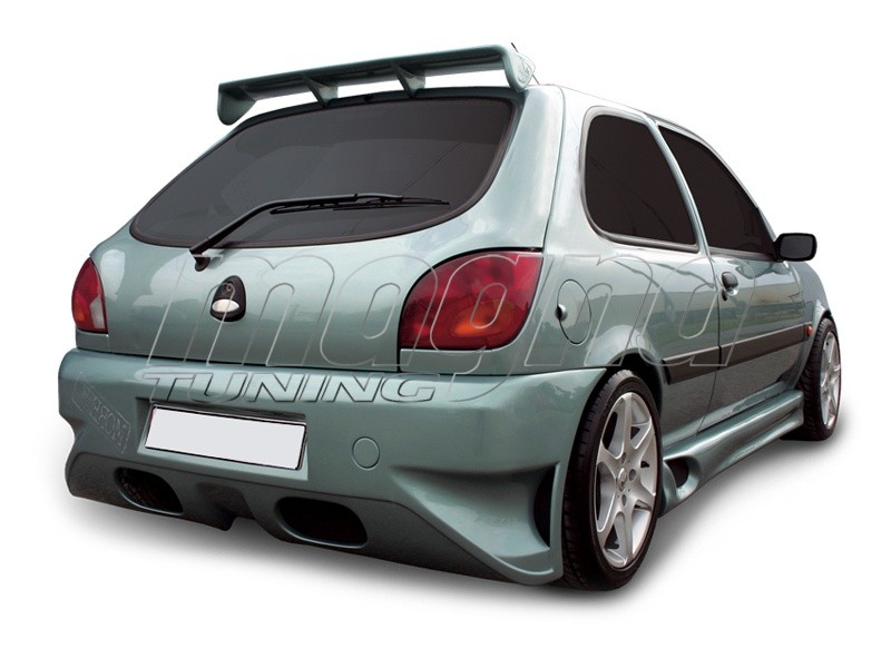 ford fiesta mk4 ninja rear bumper. Black Bedroom Furniture Sets. Home Design Ideas