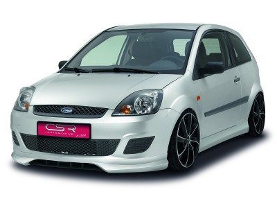 Ford Fiesta MK6 NewLine Front Bumper Extension