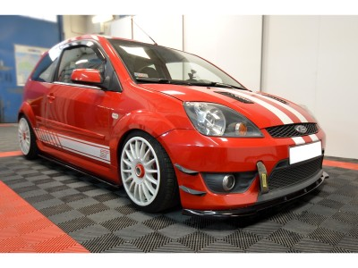 Ford Fiesta MK6 - body kit, front bumper, rear bumper, side