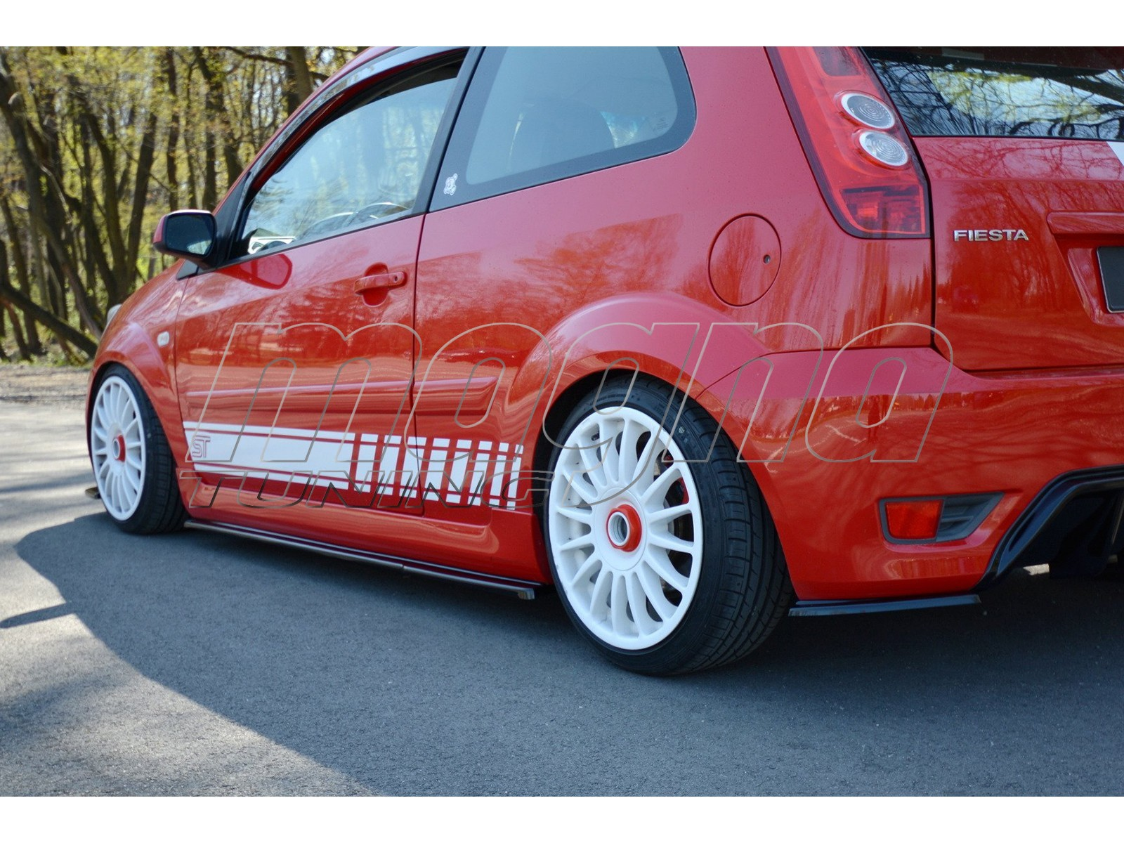 Ford Fiesta MK6 ST MX Side Skirts