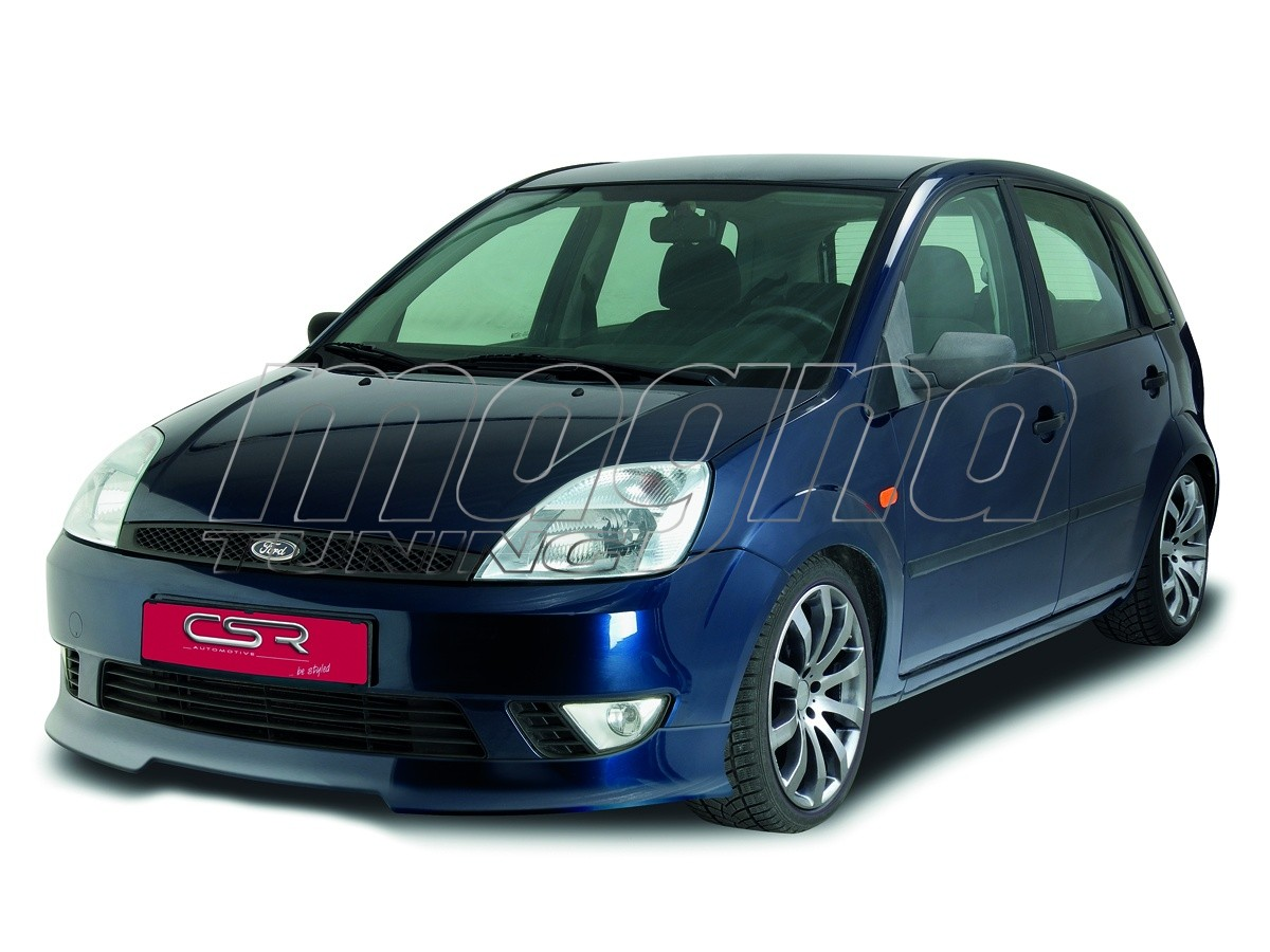 ford fiesta mk6 xl line front bumper extension. Black Bedroom Furniture Sets. Home Design Ideas