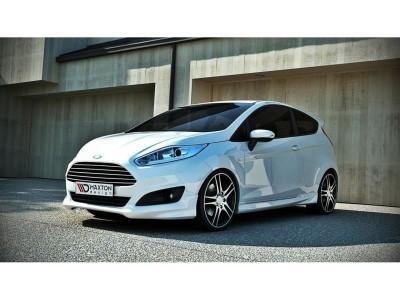 Ford Fiesta MK7 Facelift Extensie Bara Fata Matrix