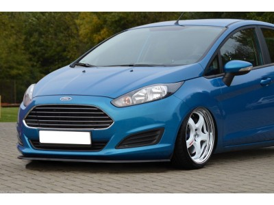 Ford Fiesta MK7 Facelift Iris Front Bumper Extension