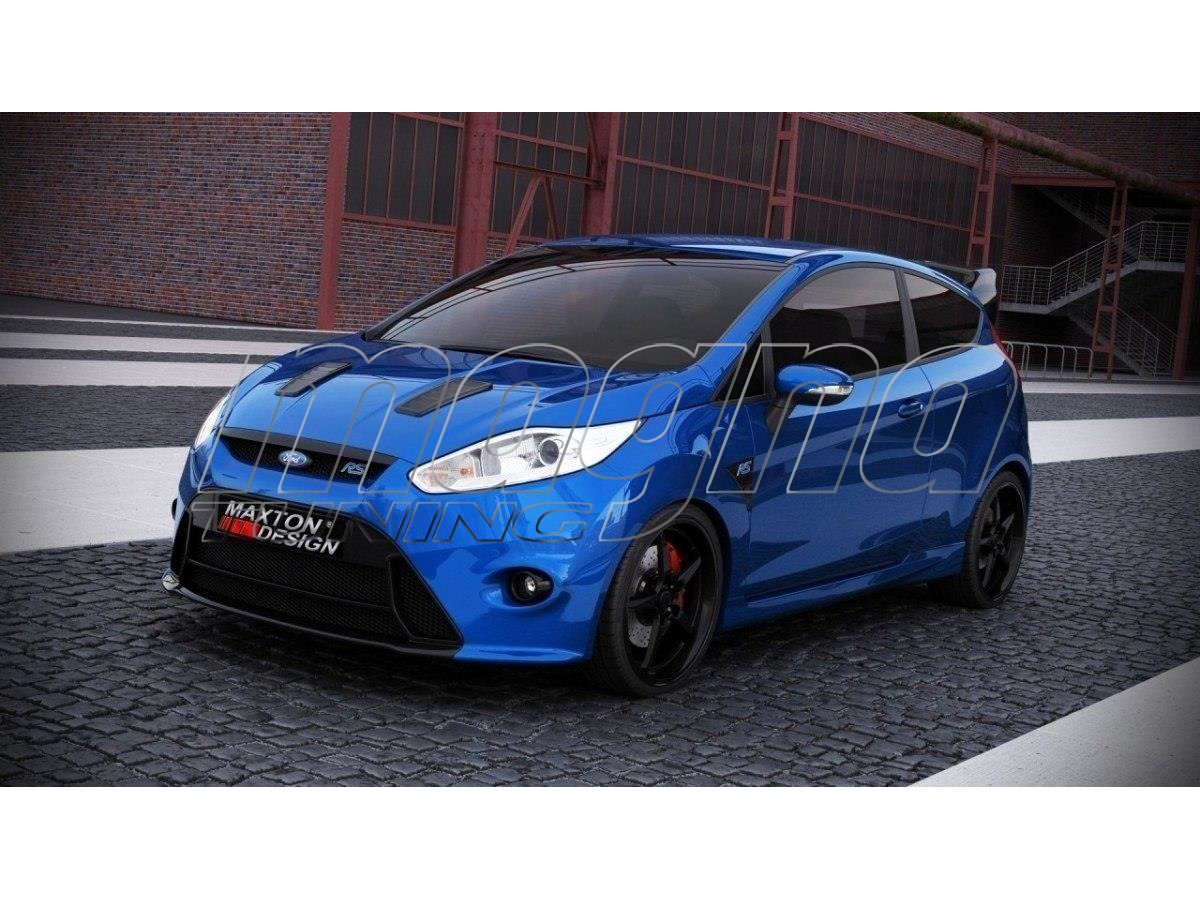 Ford Fiesta Mk7 Facelift Rs Look Body Kit