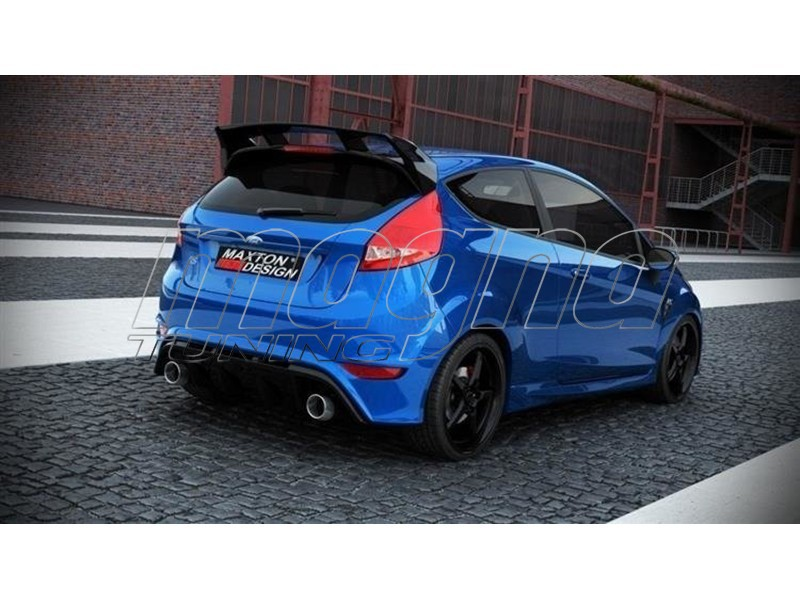 ford fiesta mk7 facelift rs look rear bumper. Black Bedroom Furniture Sets. Home Design Ideas