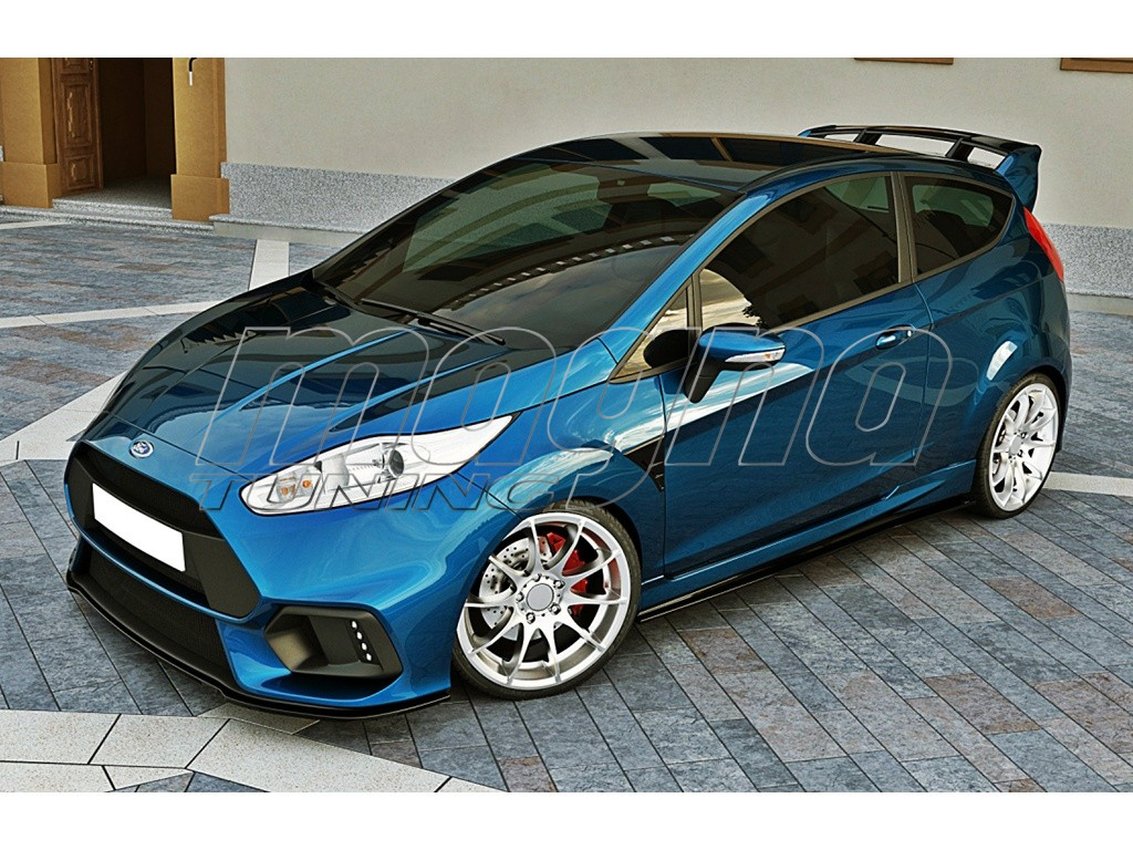 ford fiesta mk7 facelift rs15 look front bumper. Black Bedroom Furniture Sets. Home Design Ideas