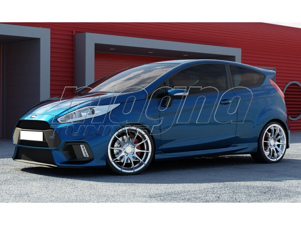 ford fiesta mk7 facelift rs15 look frontstossstange. Black Bedroom Furniture Sets. Home Design Ideas