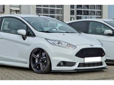 Ford Fiesta MK7 Facelift ST Invido Front Bumper Extension