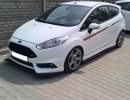 Ford Fiesta MK7 Facelift ST R-Line Front Bumper Extensions