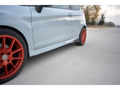 Ford Fiesta MK7 Facelift ST Racer Side Skirt Extensions