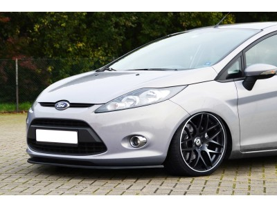 Ford Fiesta MK7 Intenso Front Bumper Extension