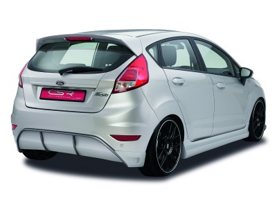 Ford Fiesta MK7 N2 Rear Bumper Extension