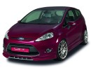 Ford Fiesta MK7 NewLine Front Bumper Extension