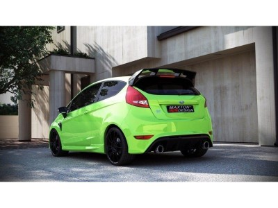 Ford Fiesta MK7 RS-Look Rear Bumper