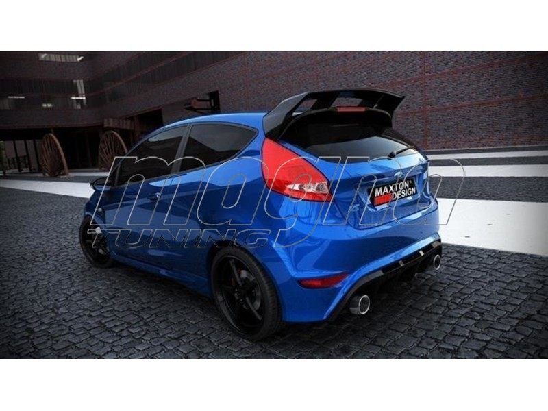 ford fiesta mk7 rs look rear wing. Black Bedroom Furniture Sets. Home Design Ideas