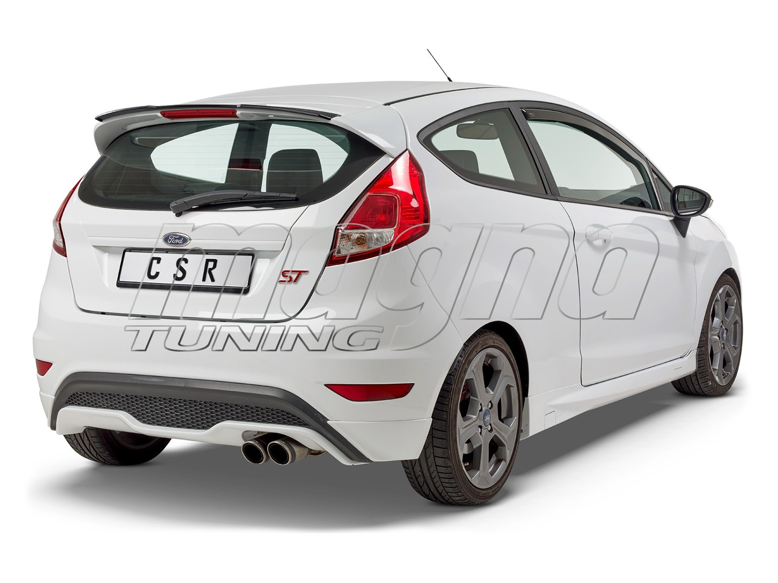 Ford Fiesta MK7 SFX Rear Wing Extension