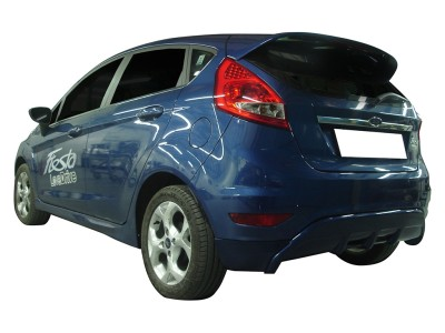 Ford Fiesta MK7 Speed Rear Bumper Extension