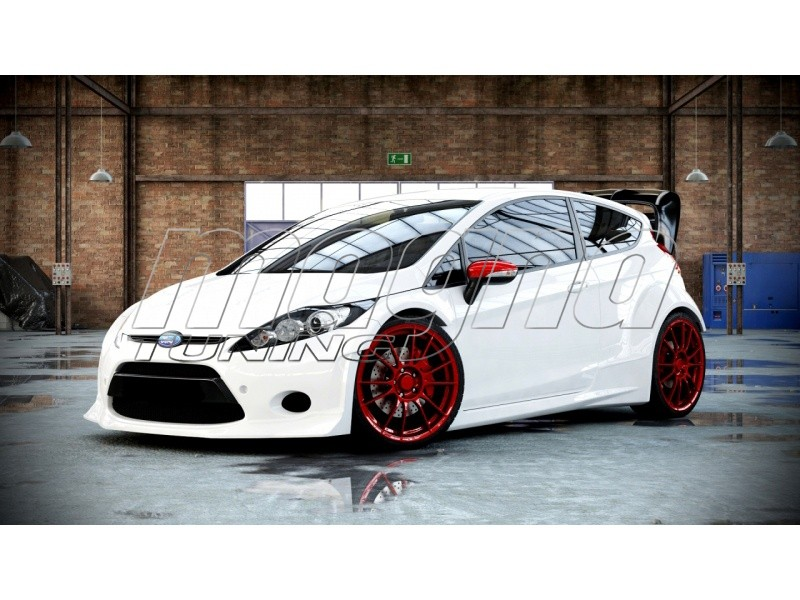 Ford Fiesta Mk7 Wrc Look Wide Body Kit
