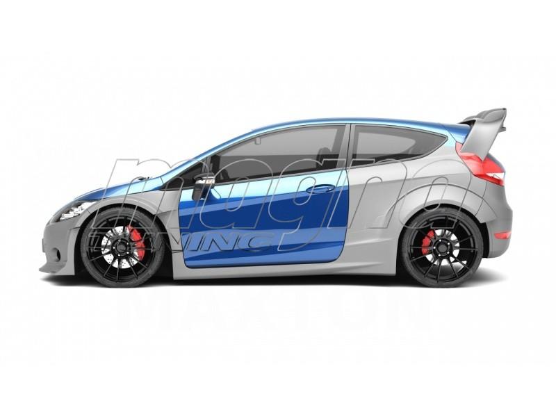 Ford Fiesta MK7 WRC-Look Wide Body Kit