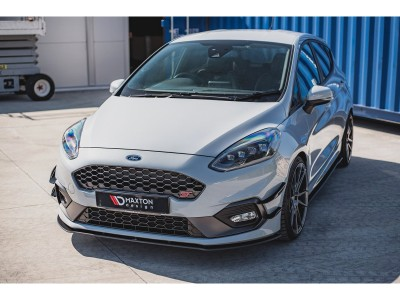Ford Fiesta MK8 MaxStyle Front Bumper Extension