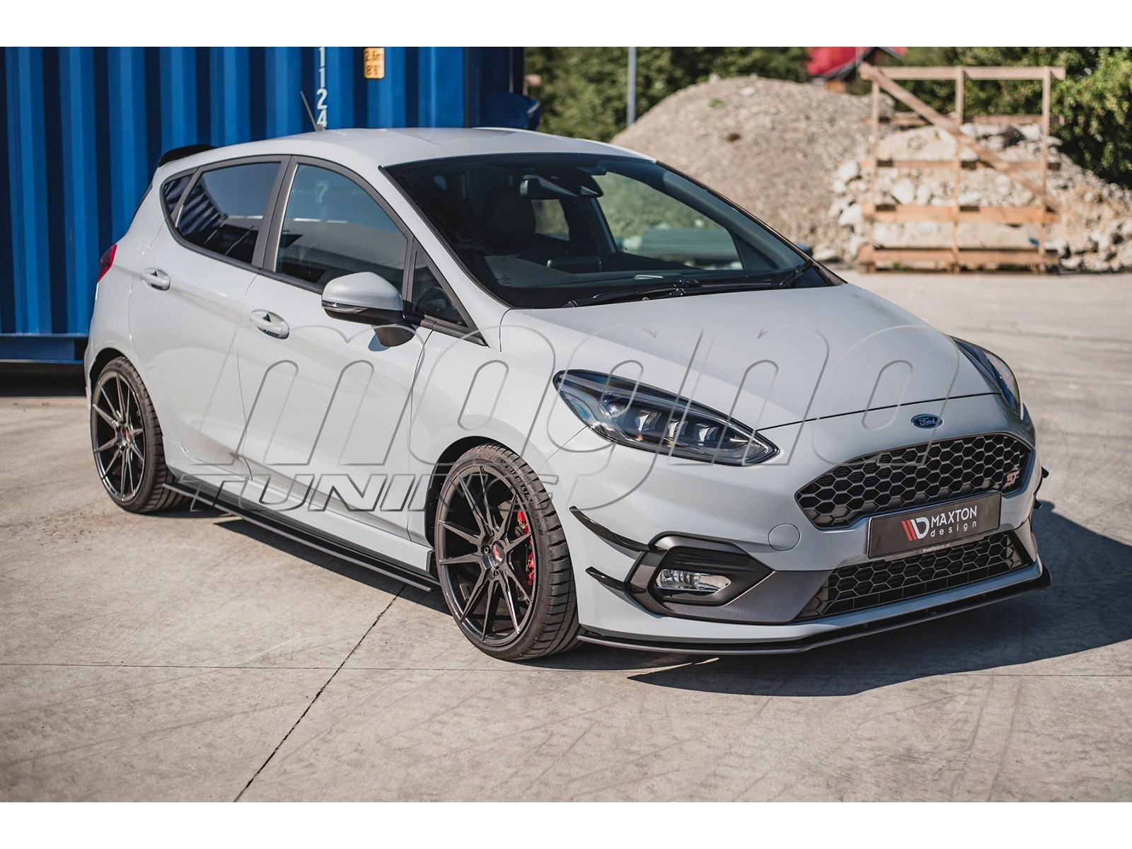 Ford Fiesta MK8 MaxStyle Side Skirt Extensions