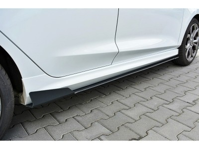 Ford Fiesta MK8 Racer2 Side Skirt Extensions