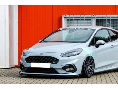 Ford Fiesta MK8 ST Intenso Front Bumper Extension