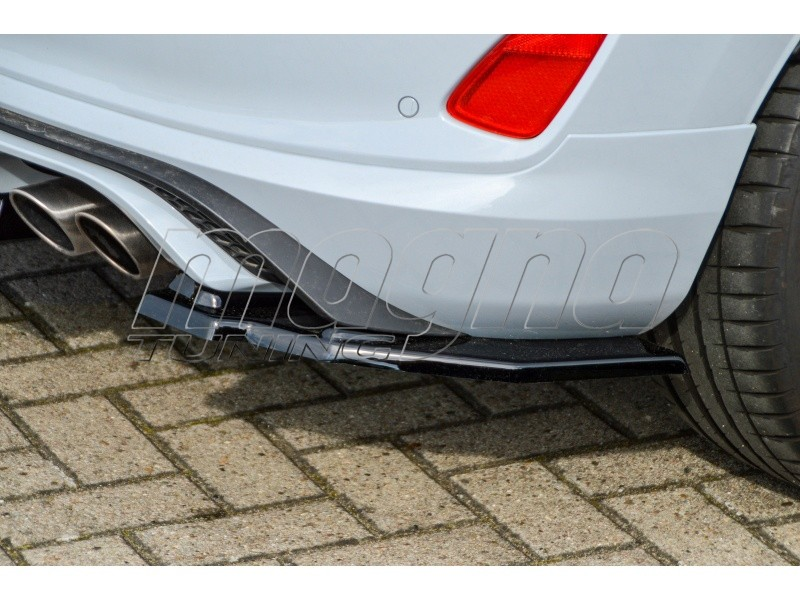 Ford Fiesta MK8 ST Intenso Rear Bumper Extension