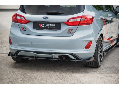 Ford Fiesta MK8 ST MaxStyle Rear Bumper Extension