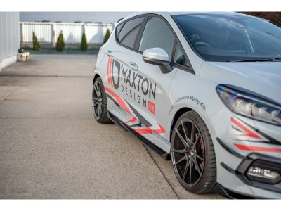 Ford Fiesta MK8 ST RaceLine3 Side Skirt Extensions