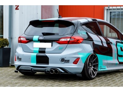 Ford Fiesta MK8 ST Racer Rear Bumper Extension