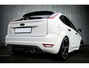 Ford Focus 2 Facelift Deluxe Rear Bumper Extension