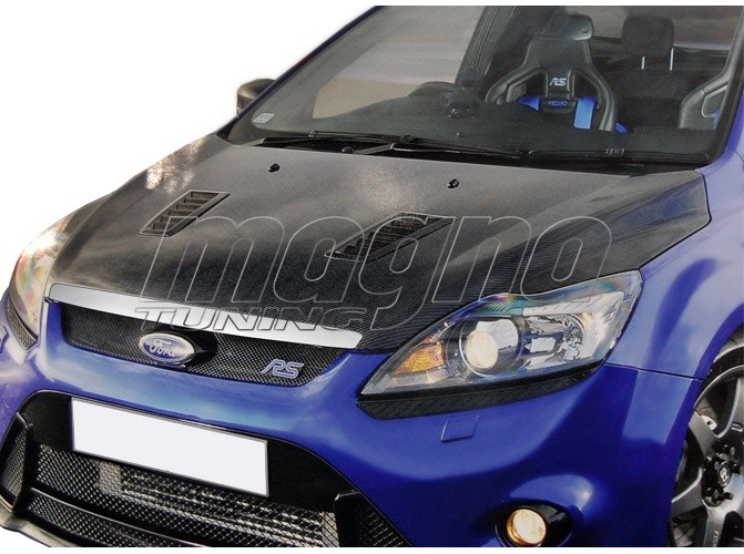 Ford Focus 2 Facelift RS-Look Carbon Fiber Hood