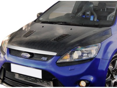 Ford Focus 2 Facelift RS-Look Carbon Fiber Hood