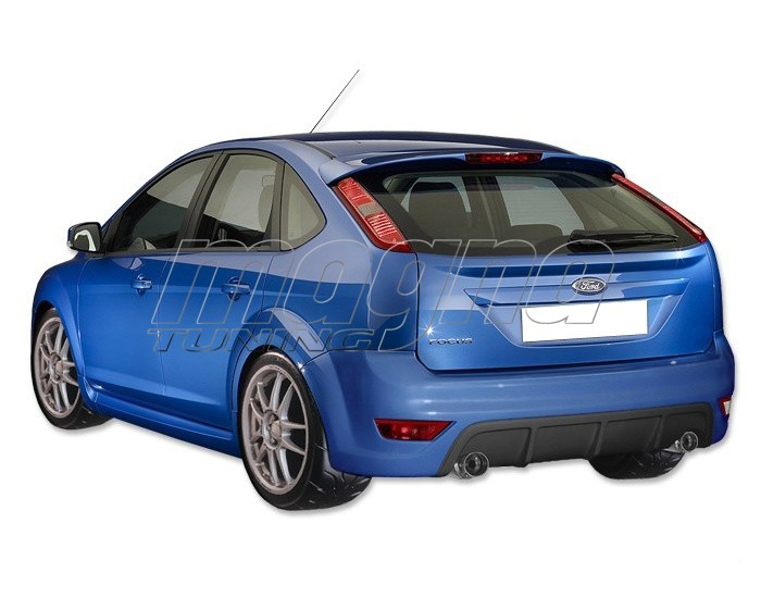 ford focus 2 facelift rs rear bumper. Black Bedroom Furniture Sets. Home Design Ideas