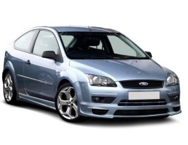 Ford Focus 2 J-Style Front Bumper Extension