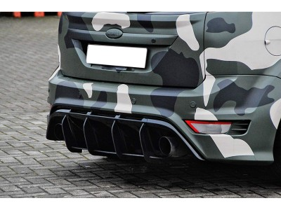 Ford Focus 2 RS Intenso Rear Bumper Extension