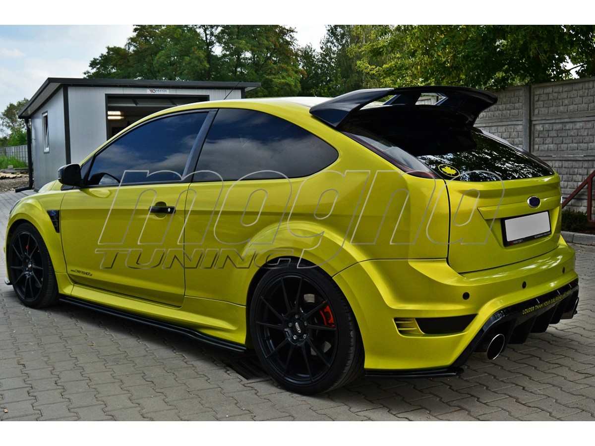 ford focus 2 rs matrix rear bumper extensions. Black Bedroom Furniture Sets. Home Design Ideas