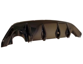 Ford Focus 2 RS Supreme Carbon Rear Bumper Extension