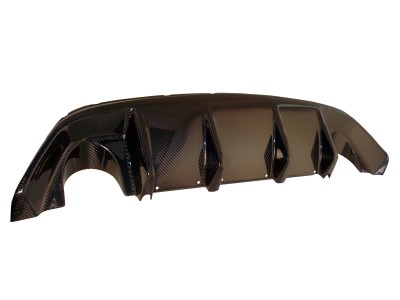Ford Focus 2 RS Supreme Carbon Rear Bumper Extension