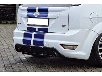 Ford Focus 2 ST Facelift Ivy Rear Bumper Extension
