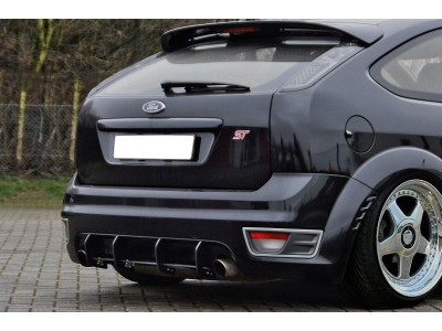Ford Focus 2 ST Invido Rear Bumper Extension