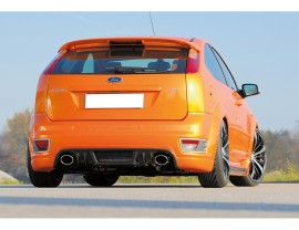 Ford Focus 2 ST Recto Rear Bumper Extension